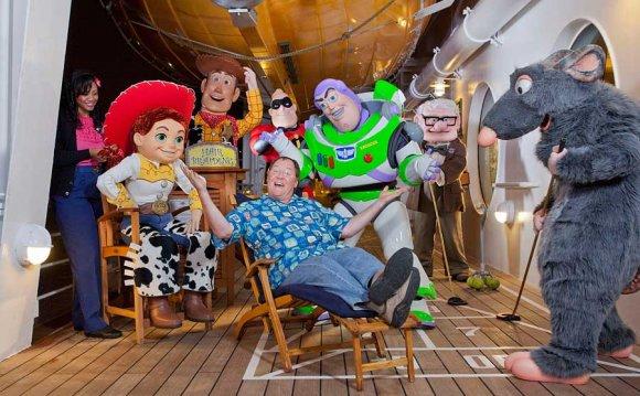 Pixar Cruise Lasseter with