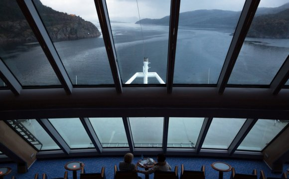 A view from the MS Trollfjord