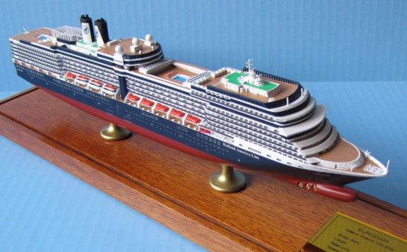 Eurodam cruise ship model
