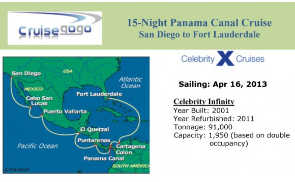 Panama canal cruise, cheap