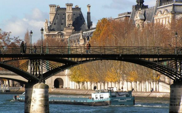 From Seine river cruise: