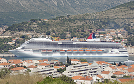 carnival breeze cruise ship dubrovnik