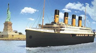 How the Titanic II was supposed to look