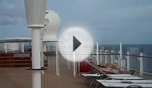 Adult Only Sun Deck - Disney Fantasy Cruise Lines