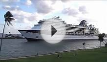 Celebrity Cruises Infinity sails away from Fort Lauderdale