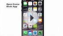 Cruise Price Tracking Alert Demo - Cruise Deals App for iOS