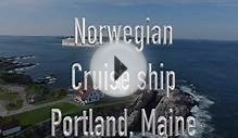 Cruise ship Norwegian Portland Maine