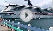 Ocho Rios Jamaica video while our cruise was in port