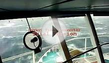 Rough Weather - Carnival Cruise Line Bridge Cam