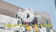 Walking Tour of Tokyo - Odaiba, Sumida River Cruise and